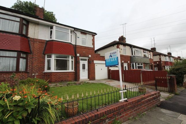 Thumbnail Semi-detached house to rent in Middleton Road, Middleton, Manchester