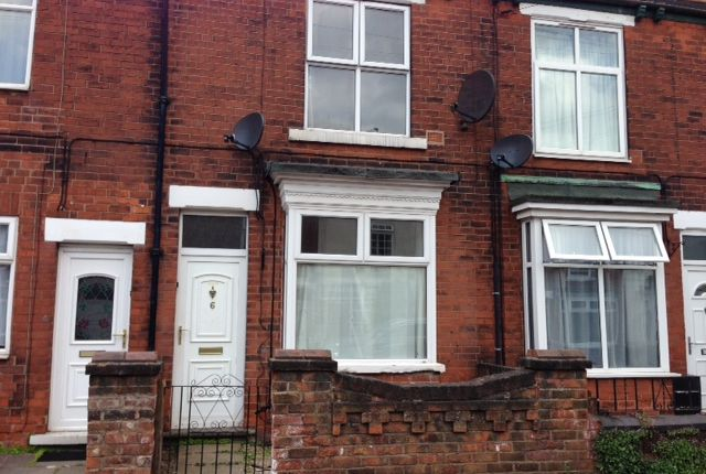 Thumbnail Terraced house to rent in Lindley Street, Scunthorpe
