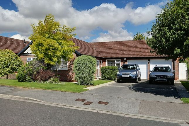 Thumbnail Detached bungalow for sale in Laxton Garth, Kirk Ella, Hull