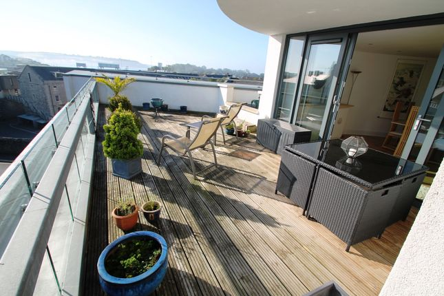 Thumbnail Flat for sale in Barrack Place, Stonehouse, Plymouth