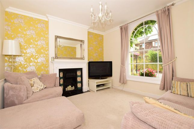 Thumbnail Semi-detached house for sale in Knockhall Road, Greenhithe, Kent