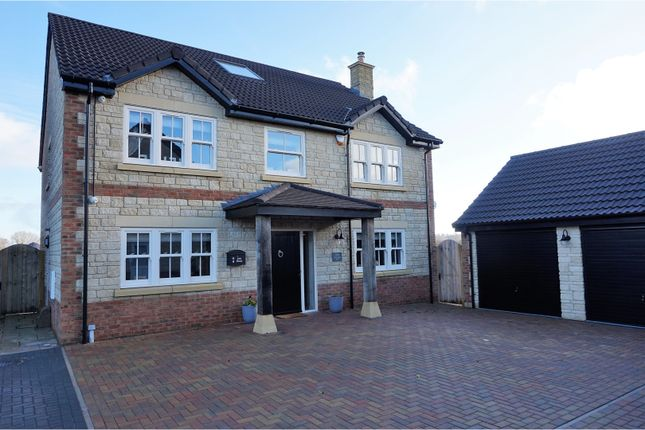 Thumbnail Detached house for sale in Damask Way, Warminster