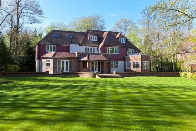 Thumbnail Detached house for sale in Silverdale Avenue, Ashley Park, Walton-On-Thames, Surrey