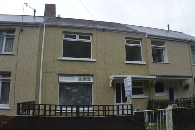 Thumbnail Terraced house to rent in Mount View Terrace, Port Talbot