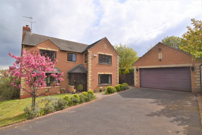 Thumbnail Detached house for sale in Moreall Meadows, Gibbet Hill