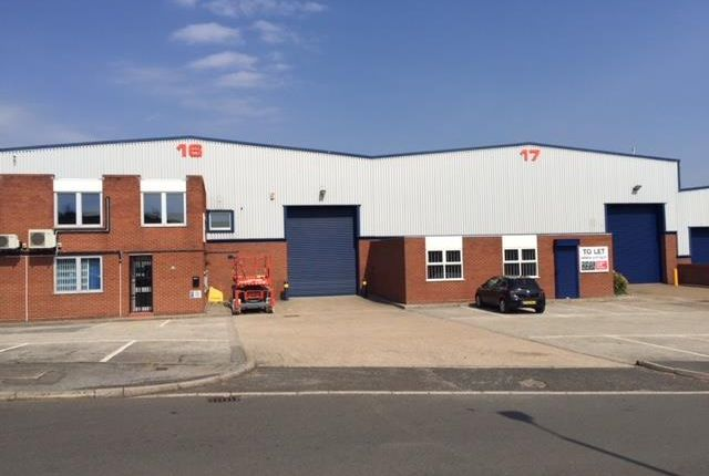 Light industrial to let in Coleshill Industrial Estate, Units 16 & 17, Roman Way, Coleshill, Warwickshire