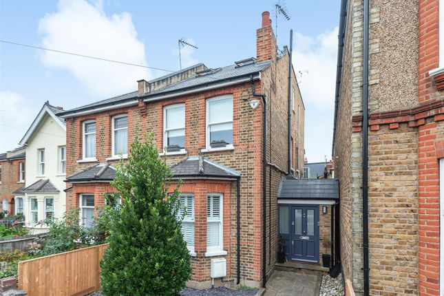Thumbnail Semi-detached house for sale in Dinton Road, Kingston Upon Thames