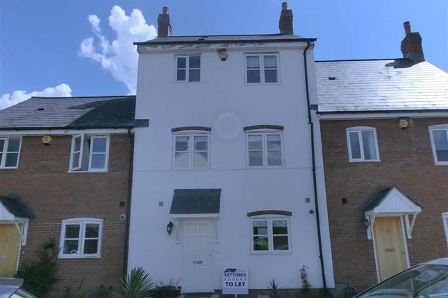 Thumbnail Terraced house to rent in Monnow Keep, Monmouth, Monmouthshire