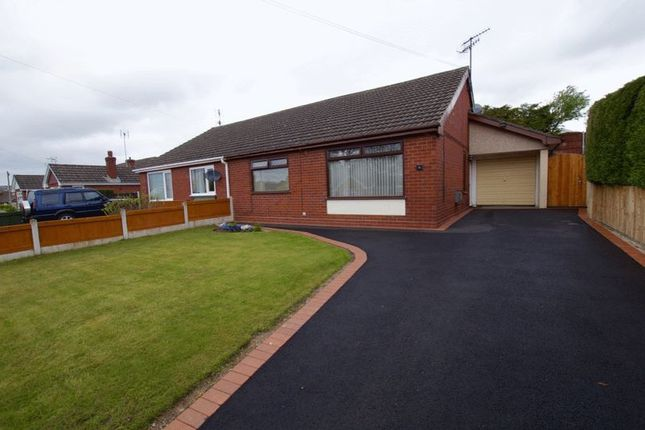 Thumbnail Semi-detached bungalow for sale in Balmoral Road, Wrexham