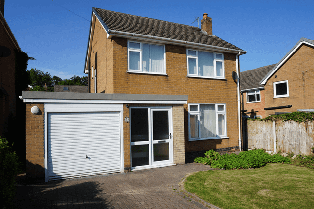 3 bed detached house to rent in Cooke Close, Old Tupton, Chesterfield S42
