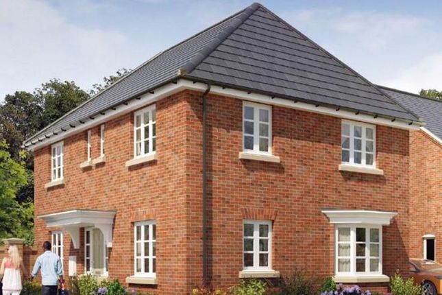 Thumbnail Detached house for sale in The Wessington At Brindley Park, Off Woodgate Drive, Chellaston, Derby