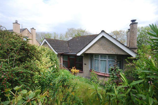 Thumbnail Detached bungalow for sale in Toltuff Crescent, Penzance