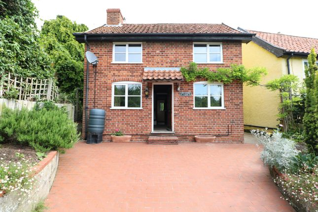 Thumbnail 3 bed detached house to rent in East Church Street, Kenninghall, Norwich