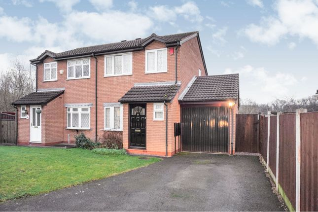 Thumbnail Semi-detached house for sale in Watery Lane, Willenhall