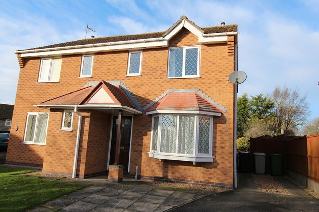 Thumbnail Semi-detached house to rent in Swann Close, North Luffenham, Oakham