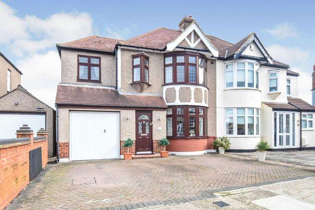 Thumbnail Semi-detached house to rent in Harlow Road, Rainham