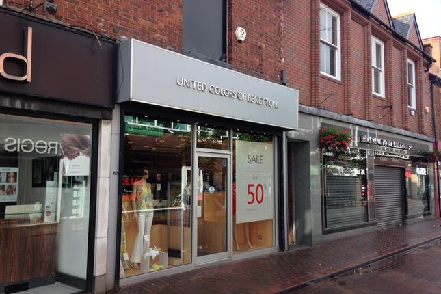 Thumbnail Retail premises to let in 64 Grove Street, Wilmslow
