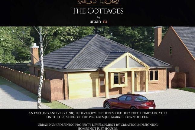 Thumbnail Detached bungalow for sale in Abbey View Fields, Bridge End, Leek