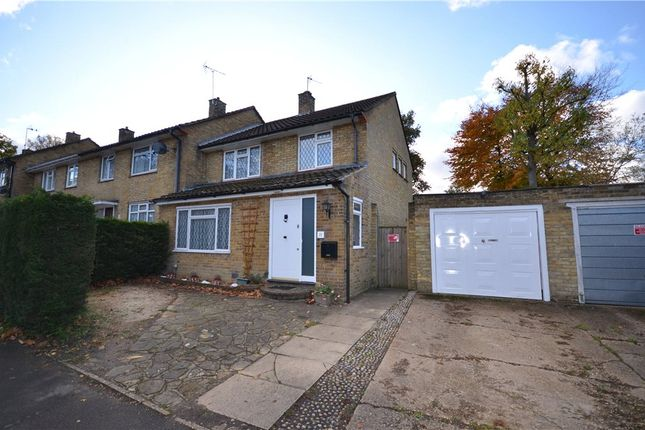 3 bed end terrace house for sale in Harcourt Road, Bracknell, Berkshire
