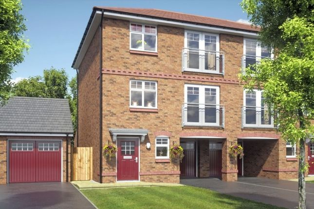 Thumbnail Semi-detached house for sale in The Tamar Makefing Road, Smethwick