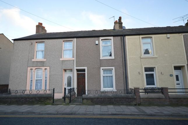 Thumbnail Terraced house to rent in Moss Bay Road, Workington