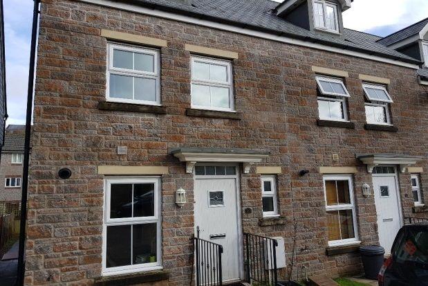 Thumbnail End terrace house to rent in Carnglaze Close, Liskeard