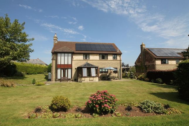Thumbnail Detached house for sale in Nursery Rise, Chilcompton, Radstock