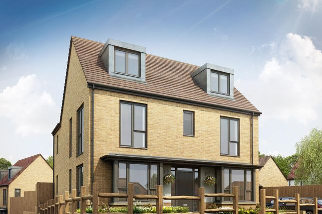 "Thumbnail Detached house for sale in ""Nightingale"" at The Green, Upper Lodge Way, Coulsdon"