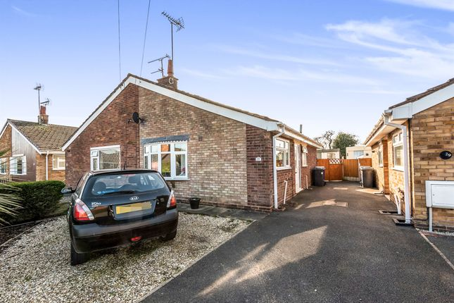 Thumbnail Semi-detached bungalow for sale in Lambert Road, Uttoxeter
