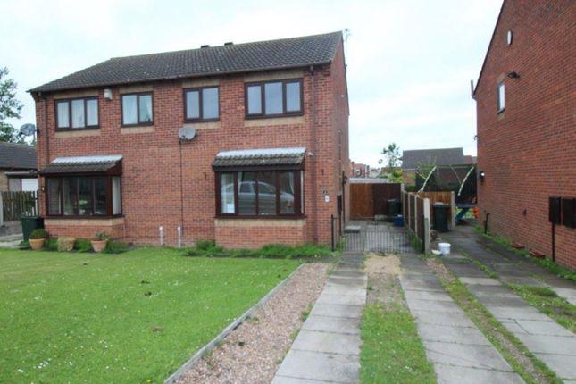 Thumbnail Semi-detached house to rent in Park Lane, Laughton Common, Dinnington, Sheffield