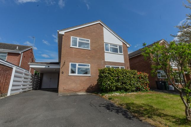 Thumbnail Detached house for sale in Sandown Close, Leamington Spa
