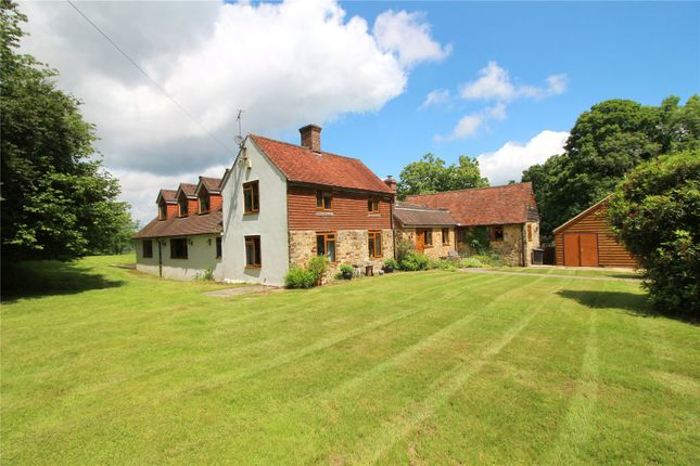 Thumbnail Detached house to rent in Crowborough Road, Nutley, East Sussex