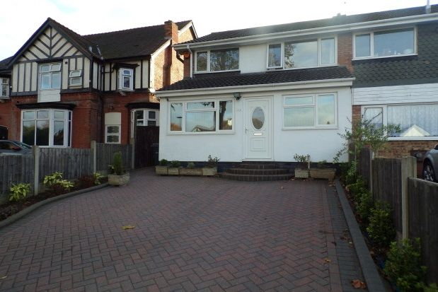 Thumbnail Property to rent in Highfield Road, Moseley, Birmingham