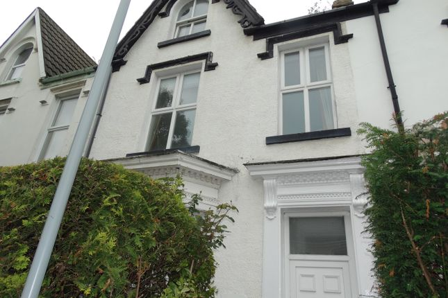 Thumbnail Terraced house to rent in St Helens Avenue, Swansea