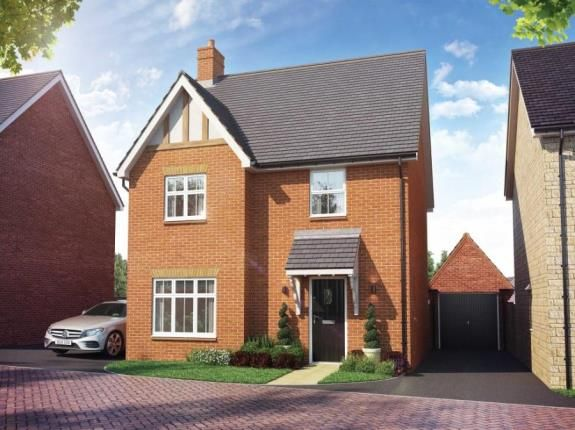 Thumbnail Detached house for sale in Buckton Fields Home Farm Drive, Boughton, Northampton, Northamptonshire