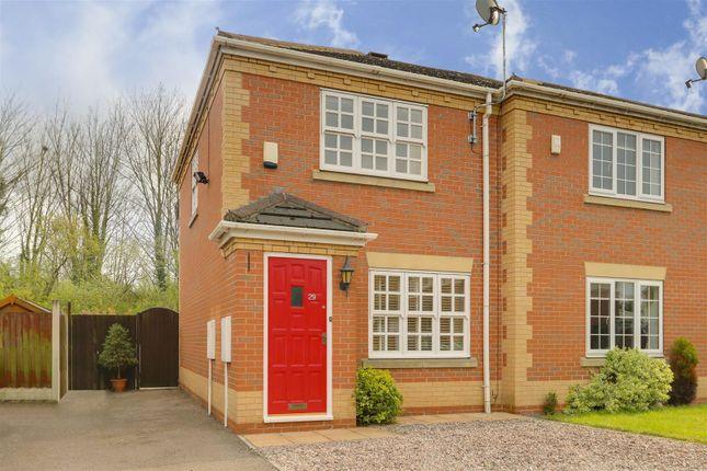 Thumbnail Semi-detached house for sale in Bendigo Lane, Colwick, Nottinghamshire