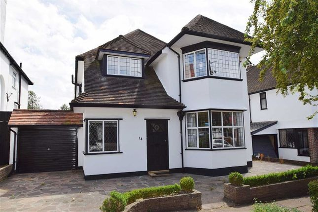 Thumbnail Detached house for sale in Meadway, Westcliff, Essex