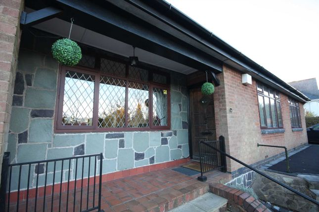 Thumbnail Detached bungalow for sale in Leicester Road, Markfield