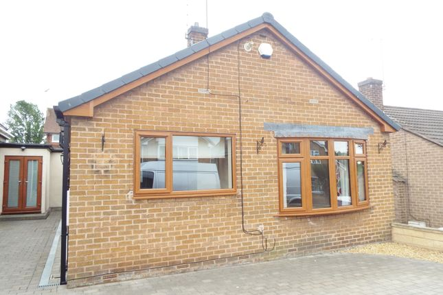 Thumbnail Detached bungalow to rent in Farmfields Close, Bolsover, Chesterfield