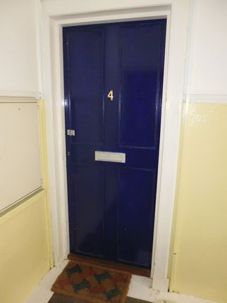 Entrance Door of Flat 4, Bourtree Place, 96. High Street, Rothesay, Isle Of Bute PA20