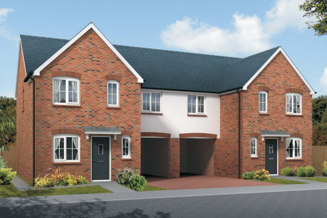 Thumbnail Semi-detached house for sale in The Staunton, Squires Meadow, Lea, Ross-On-Wye, Herefordshire