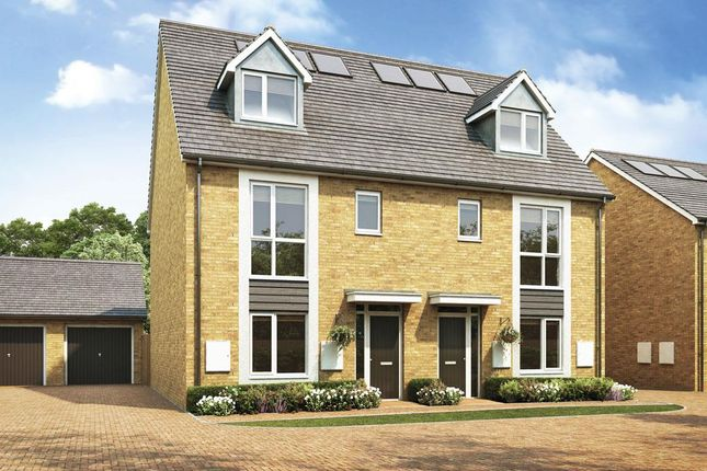 Thumbnail End terrace house for sale in Plot 32, The Valentia, St. Andrew's Park, Uxbridge