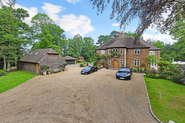 Thumbnail Detached house for sale in Longdown Road, Lower Bourne, Farnham