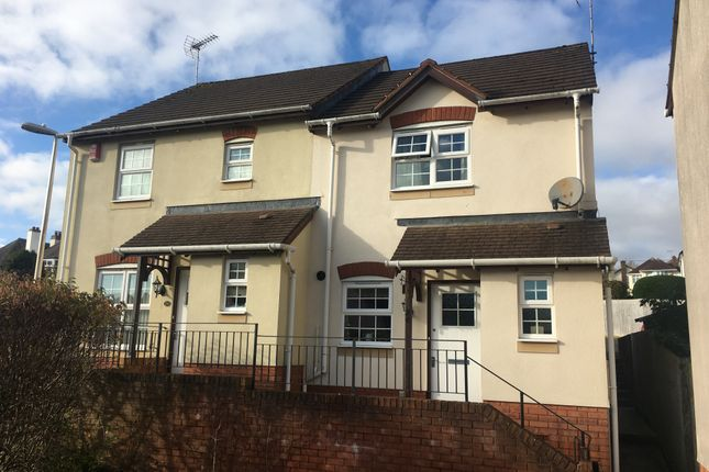 2 bed semi-detached house to rent in Newlands Road, Sidford, Sidmouth EX10