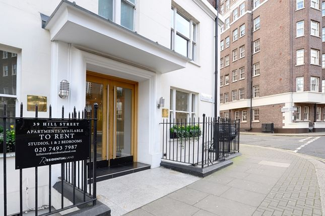 Exterior of Hill Street, London W1J