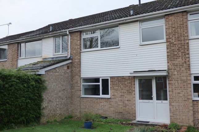 Thumbnail Terraced house to rent in Cavendish Close, Romsey