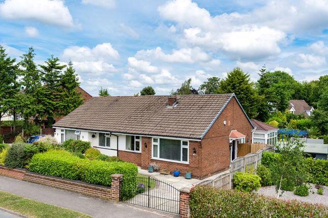 Thumbnail Semi-detached bungalow for sale in Wellfield Road, Culcheth, Warrington