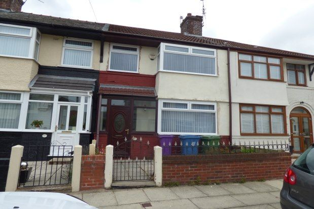 Thumbnail Terraced house to rent in Morval Crescent, Liverpool