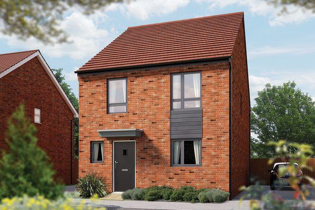 "Thumbnail Link-detached house for sale in ""The Caldecotte"" at London Road, Calverton, Milton Keynes"