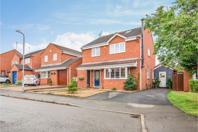 Thumbnail Detached house for sale in Riverside Way, Droitwich